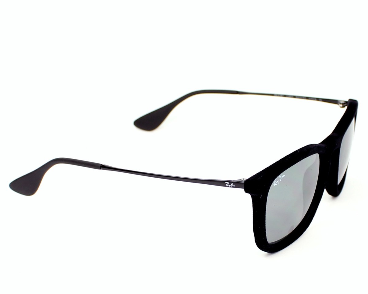 7c52c33ad7842a thumbnail Sunglasses Ray-Ban RB-4187 6075 6G - Black side view