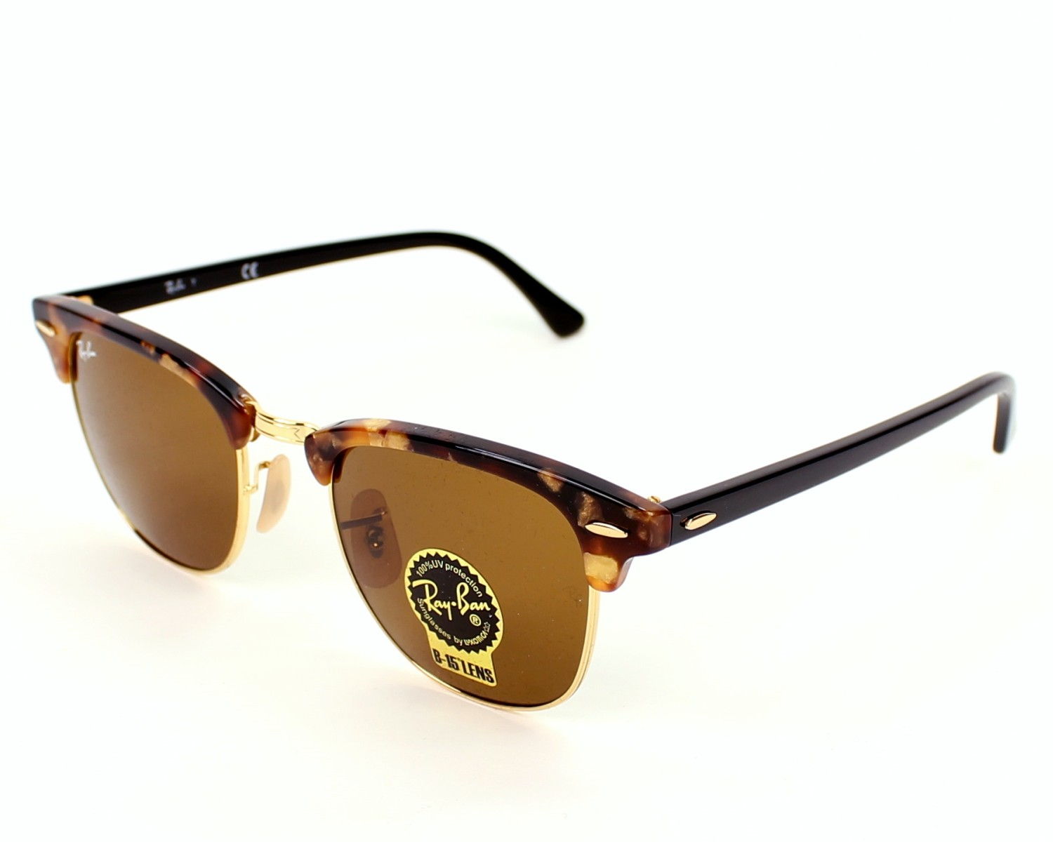 Sunglasses Ray-Ban RB-3016 1160 49-21 Brown Black profile view 5d93c023e9