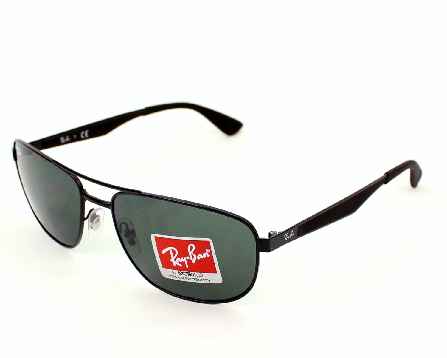 47c2a2bb021 Sunglasses Ray-Ban RB-3528 006 71 61-17 Black profile view