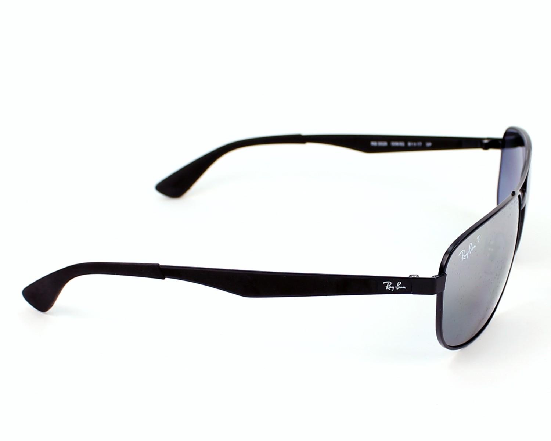 66c5509ab2 Sunglasses Ray-Ban RB-3528 006 82 61-17 Black side view