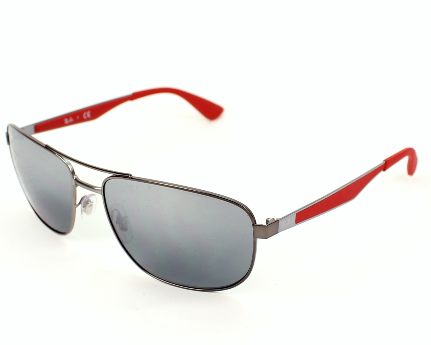 4bfe0f98482 Sunglasses Ray-Ban RB-3528 029 88 58-17 Gun Red profile
