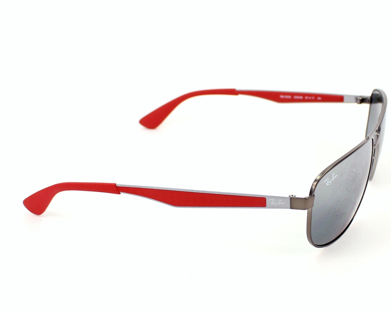 764f58f457f Sunglasses Ray-Ban RB-3528 029 88 58-17 Gun Red side