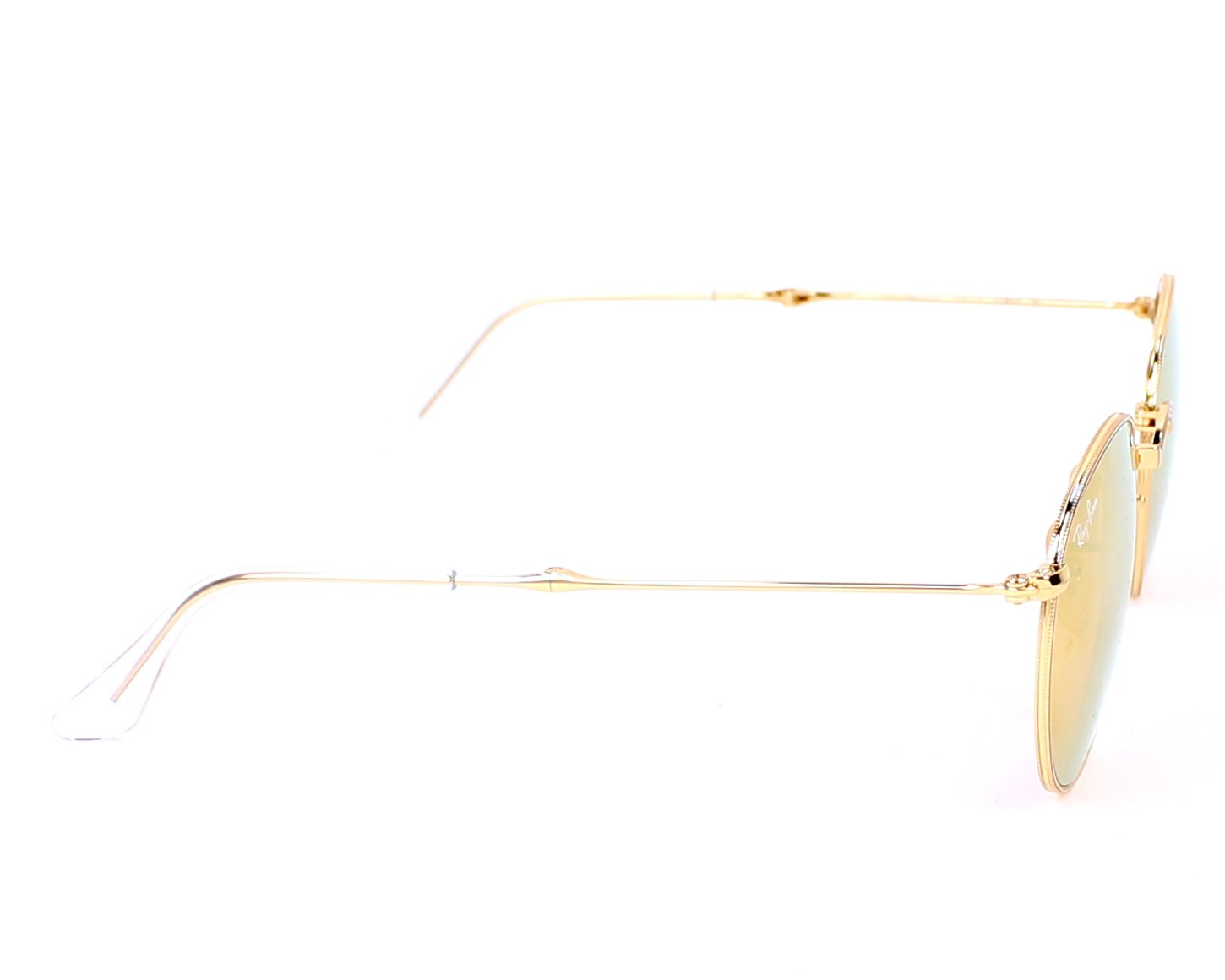 01bb1cd7462 thumbnail Sunglasses Ray-Ban RB-3532 001 Z2 - Gold side view