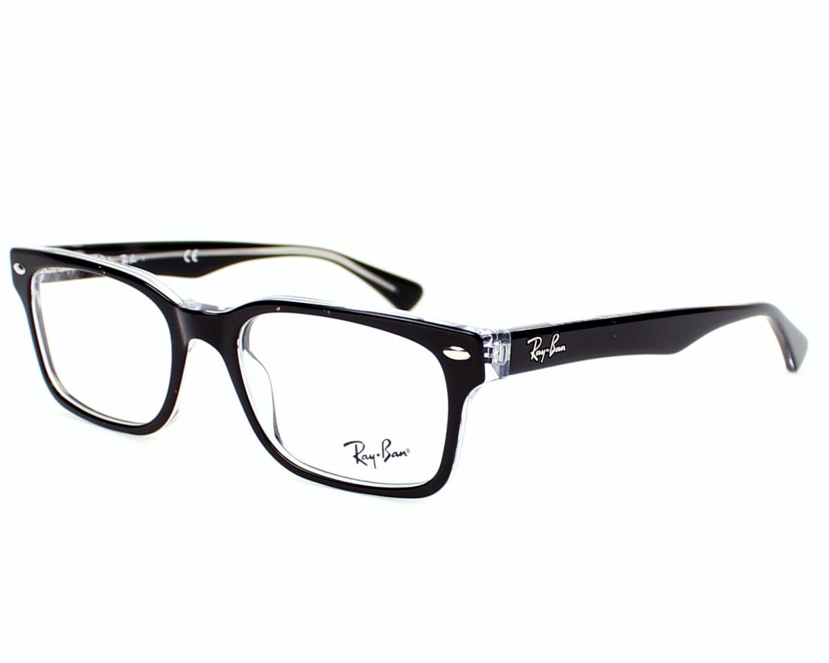 652fe901a5 eyeglasses Ray-Ban RX-5286 2034 - Black Crystal profile view