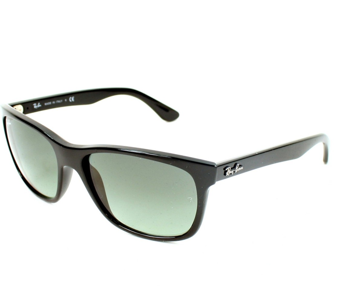 6898687ca7 Sunglasses Ray-Ban RB-4181 601 71 57-17 Black profile view