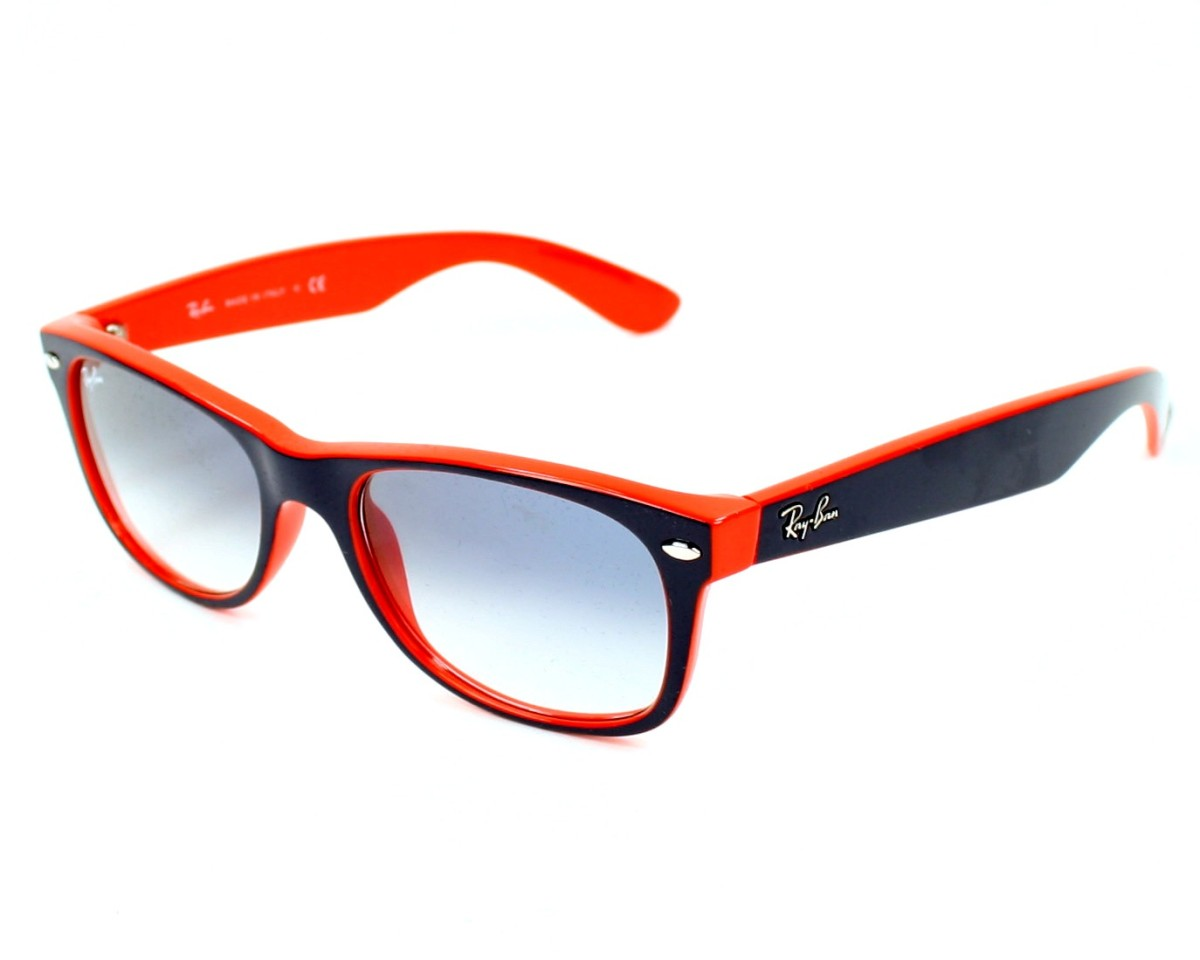 db138a70bc Sunglasses Ray-Ban RB-2132 789 3F 52-18 Blue Orange profile