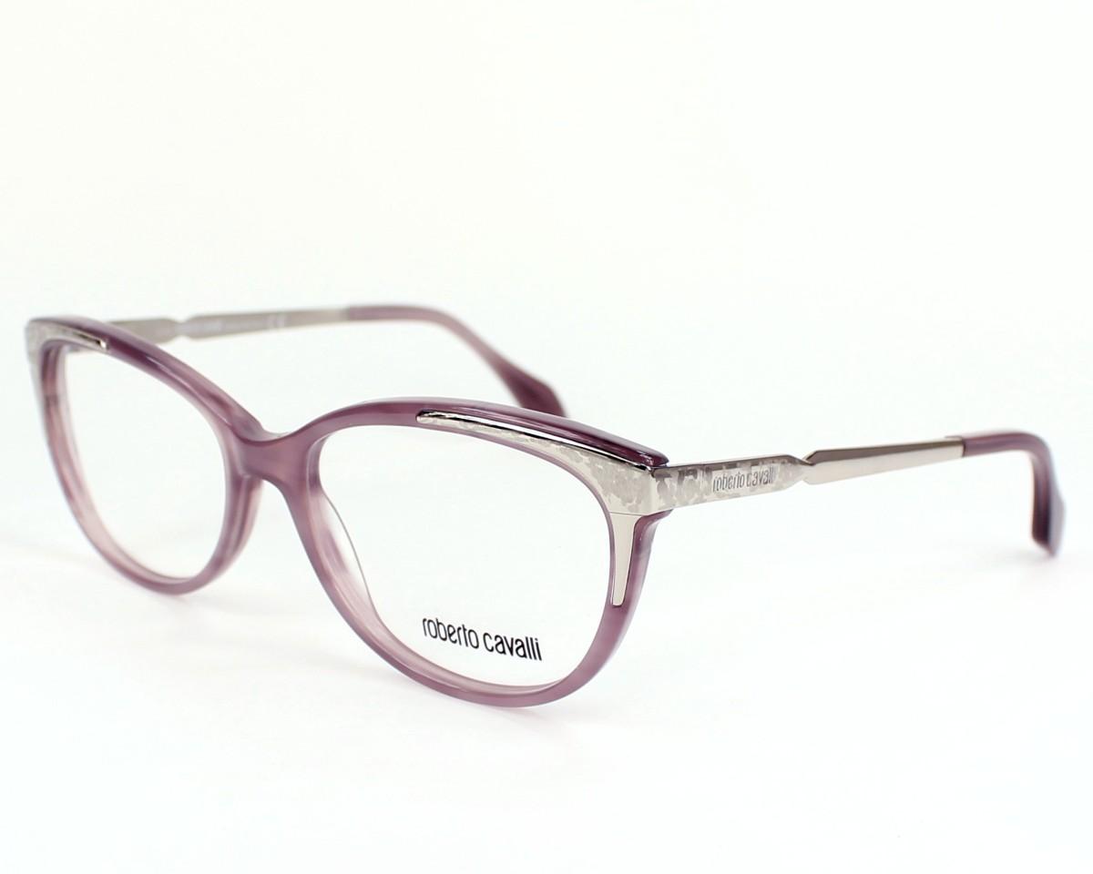 d1bca8fd7b5e eyeglasses Roberto Cavalli RC-711 080 - Purple Silver profile view