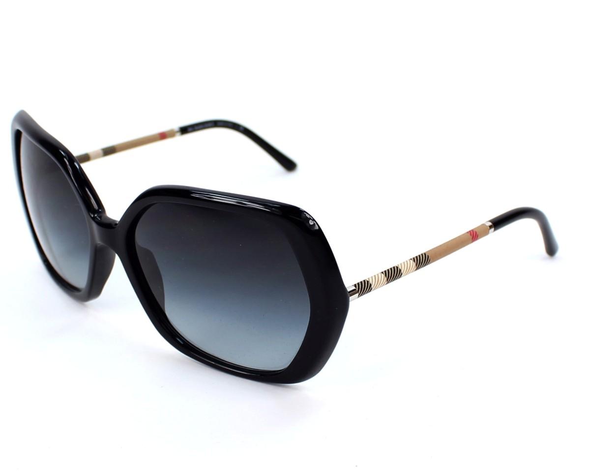 1f384851162a Sunglasses Burberry BE-4122 3001/8G - Black profile view