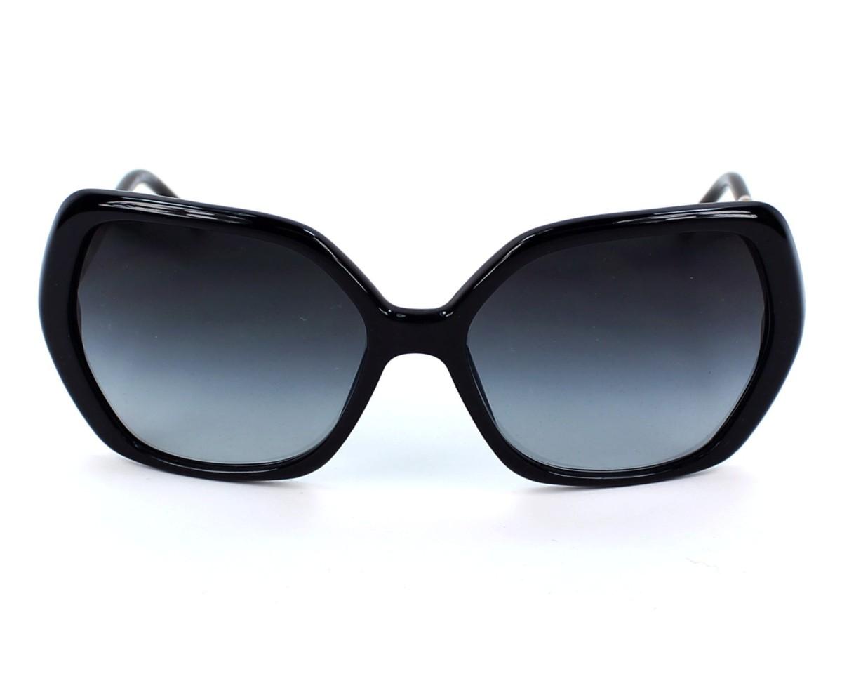 5ecc42af2278 Sunglasses Burberry BE-4122 3001/8G - Black front view