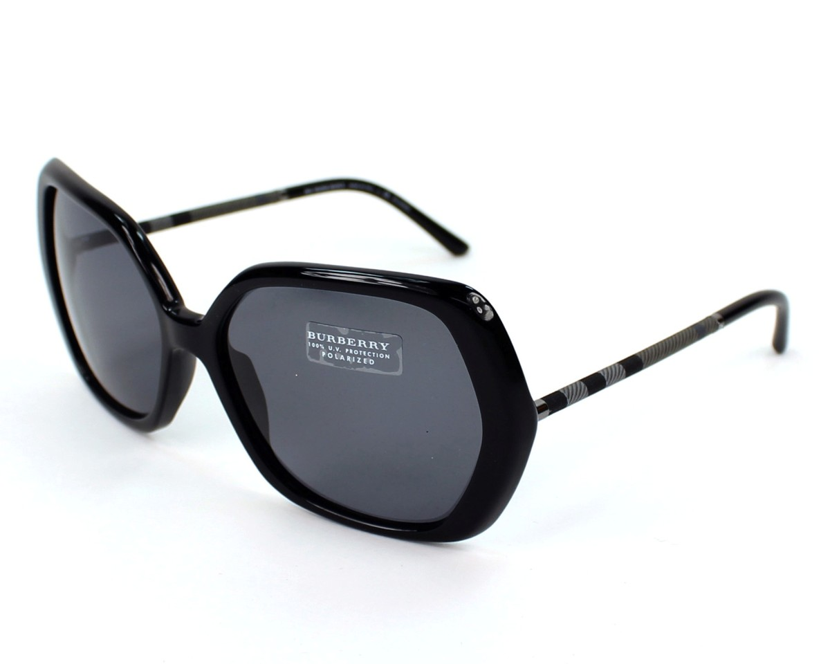 6a36e25f2c6f Sunglasses Burberry BE-4122 3347/81 - Black profile view