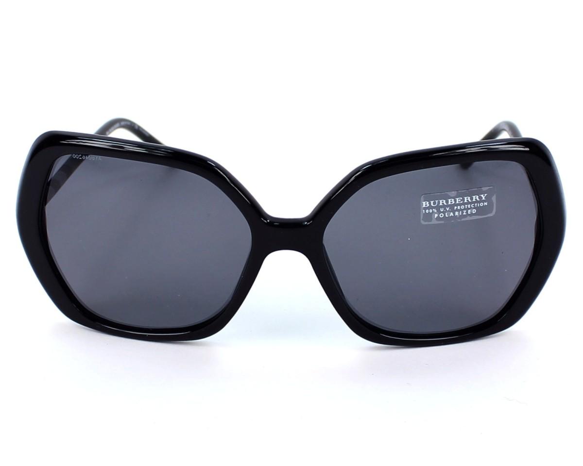 c9a8b33c2fb1 Sunglasses Burberry BE-4122 3347/81 - Black front view