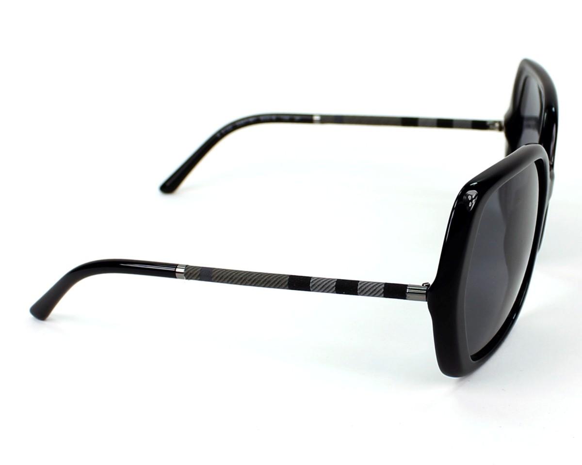 df1c42d455c1 Sunglasses Burberry BE-4122 3347/81 - Black side view