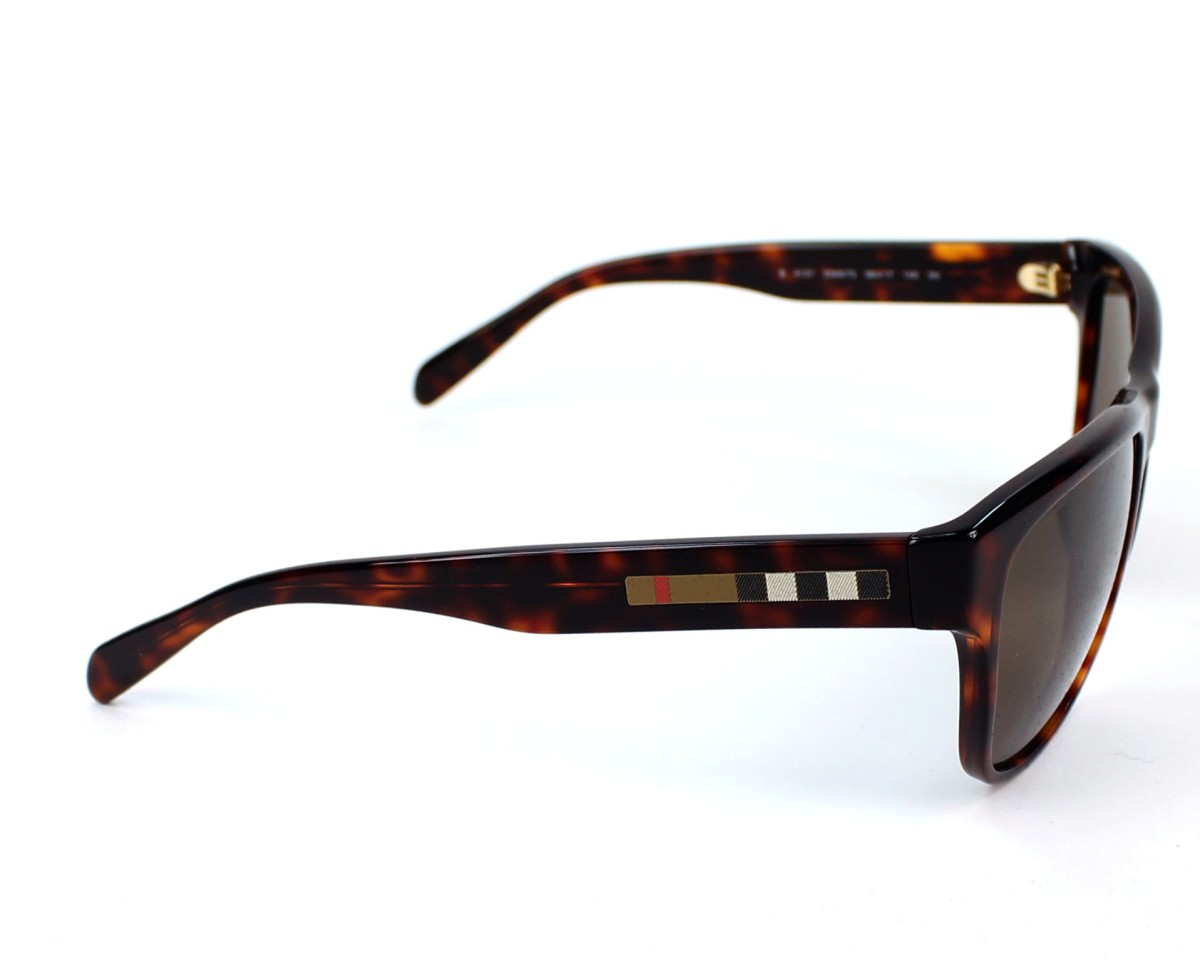 61b86c3101ca Sunglasses Burberry BE-4131 3349 73 - Havana side view