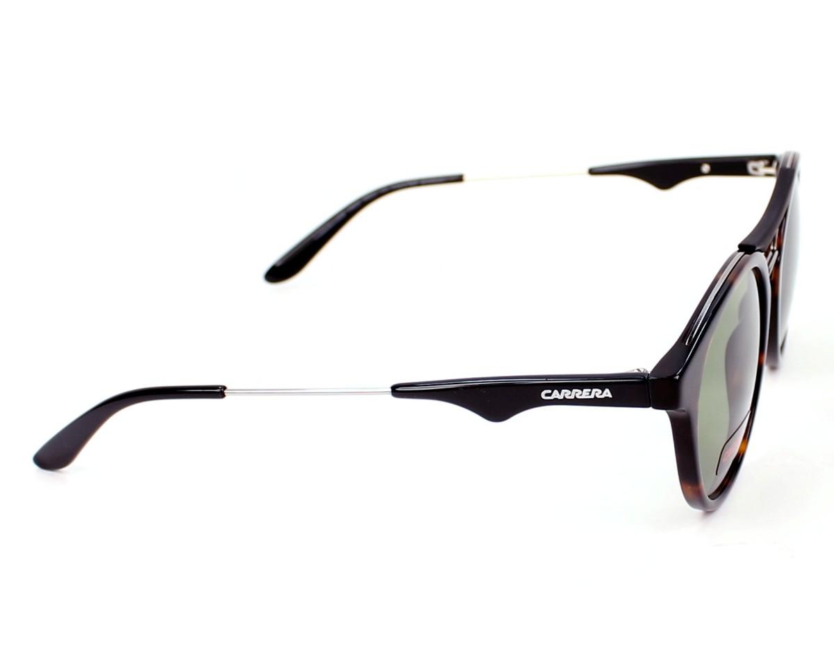 a857ace3513aa Sunglasses Carrera 6008 100 DJ 50-21 Havana Ruthenium side view