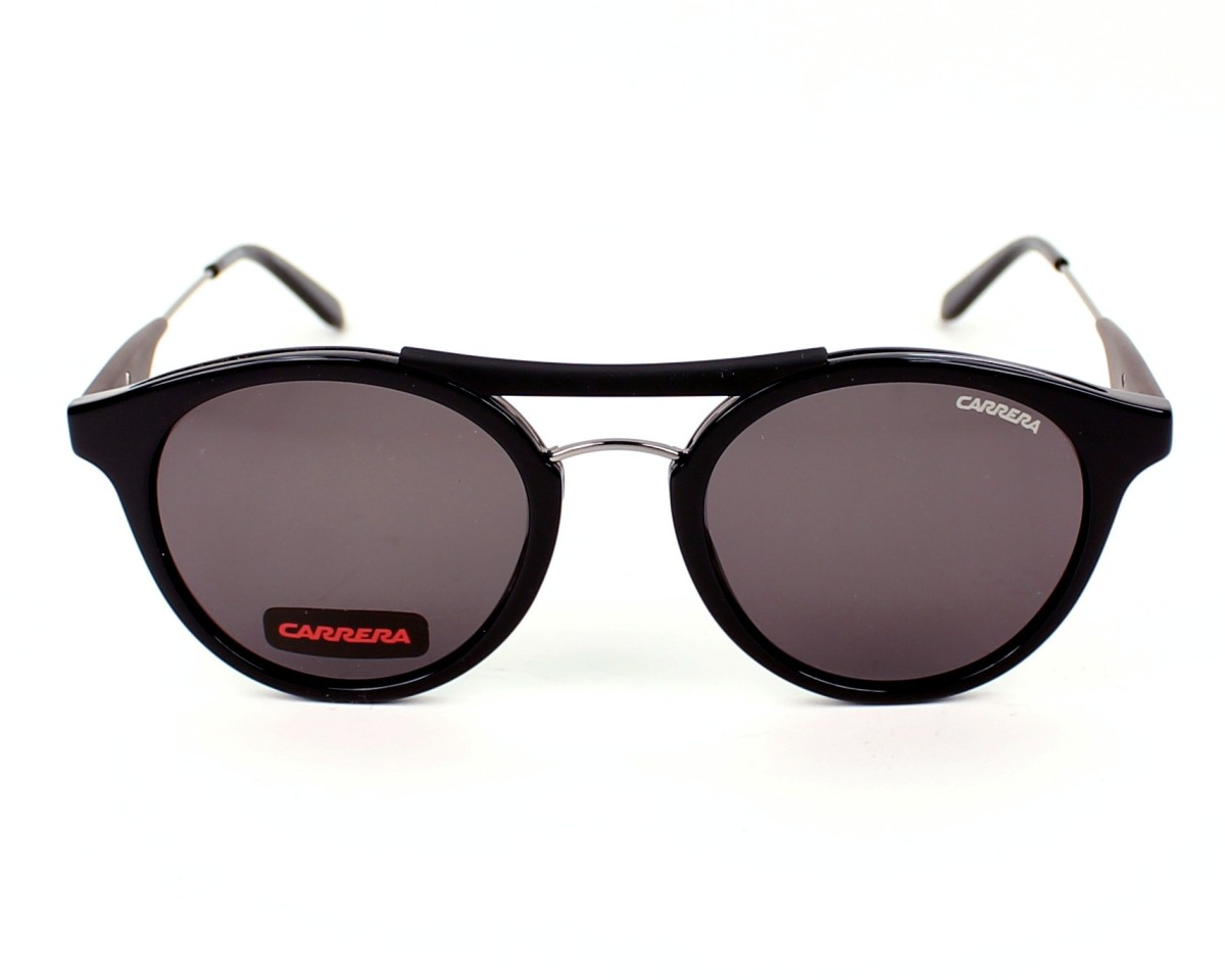 2b3bfb68d829 Sunglasses Carrera 6008 ANS 70 50-21 Black front view