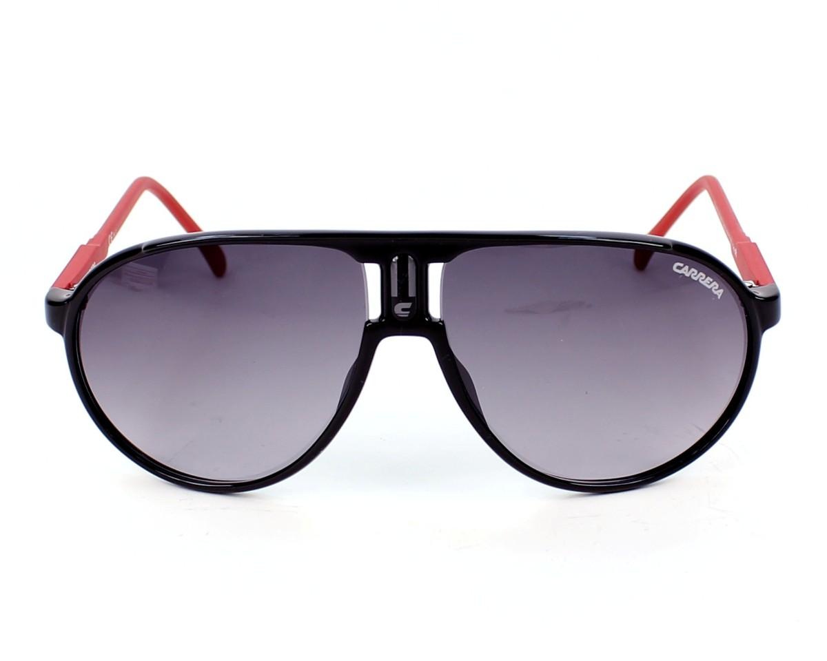 376abb4c0561 Sunglasses Carrera Champion-Rubber D2G/EU - Black Red front view