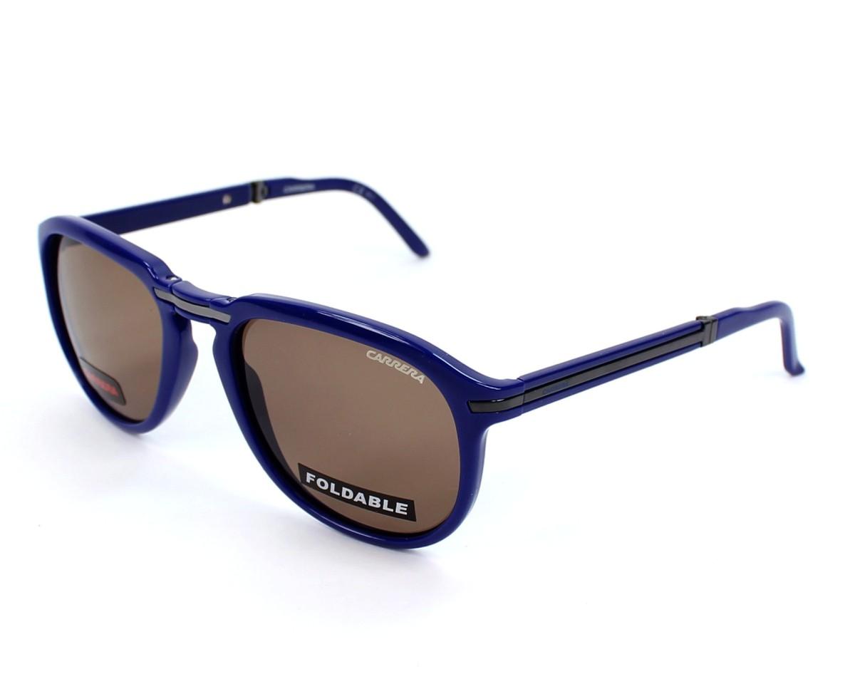 fb9b3df9c3 thumbnail Sunglasses Carrera Pocket-Flag-3 2D2 6J - Blue profile view