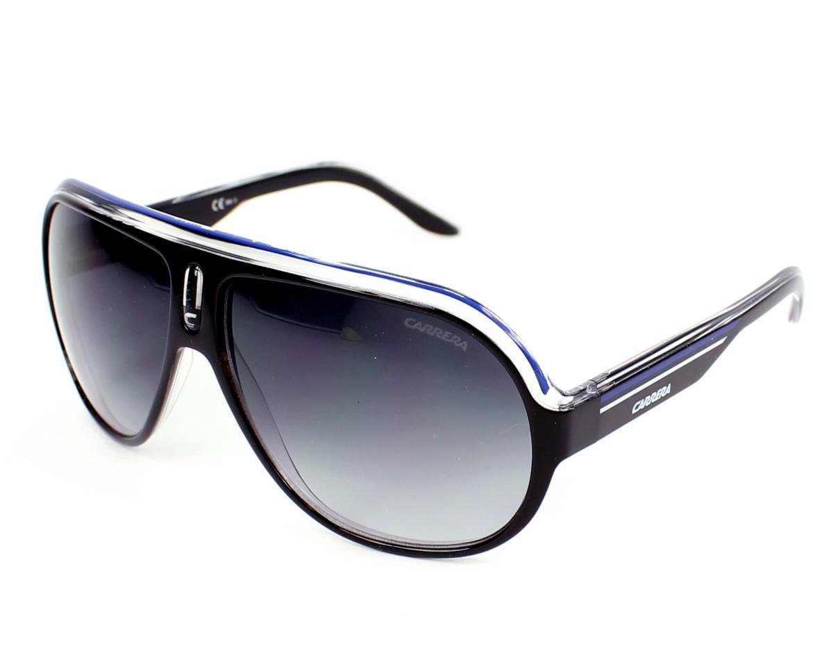 8e206e2b6f3 Sunglasses Carrera Speedway 93D JJ - Black Crystal profile view