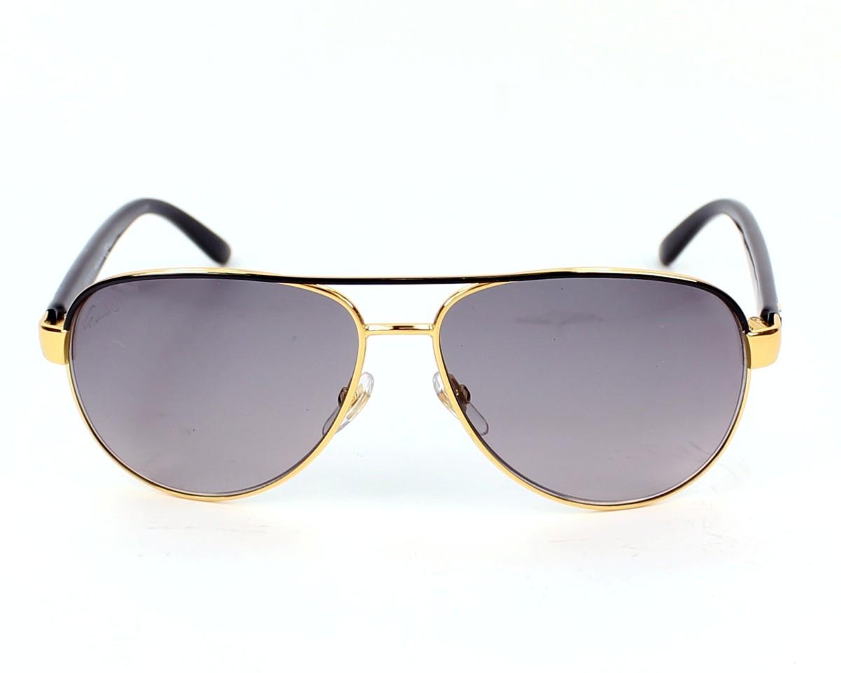 84fbdfcfe2 thumbnail Sunglasses Gucci GG-4239-S DYO EU - Gold Black front view