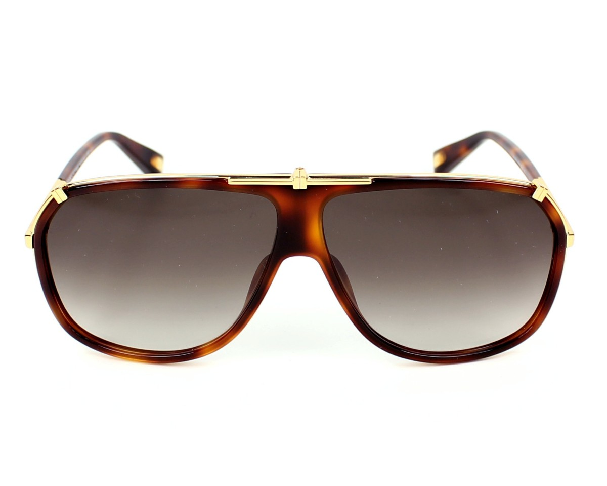 a0bb8e2fbebf Sunglasses Marc Jacobs MJ-305-S 001 JS 62-10 Havana Gold