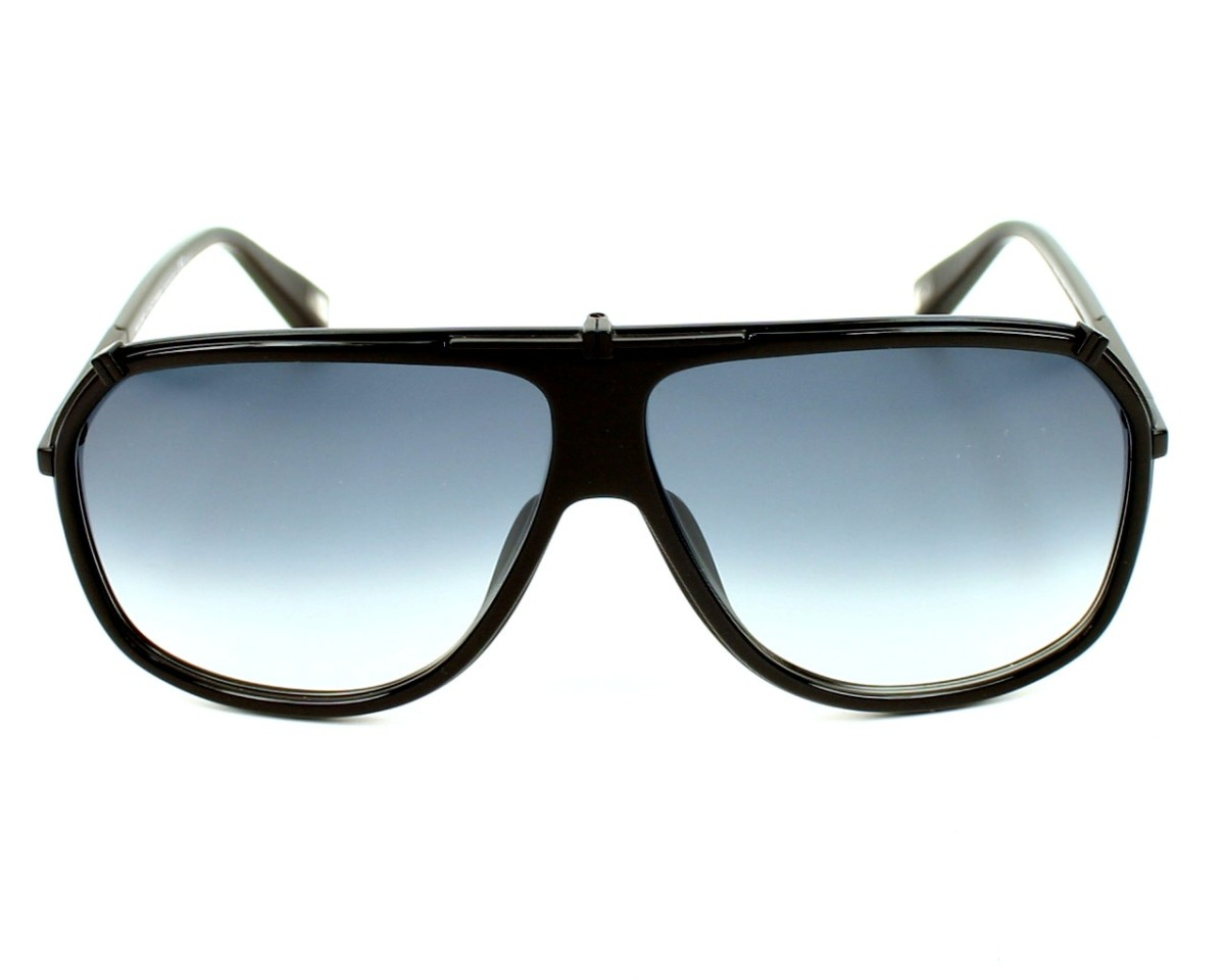 f60ccb14f8a2 thumbnail Sunglasses Marc Jacobs MJ-305-S PDE/JJ - Black front view