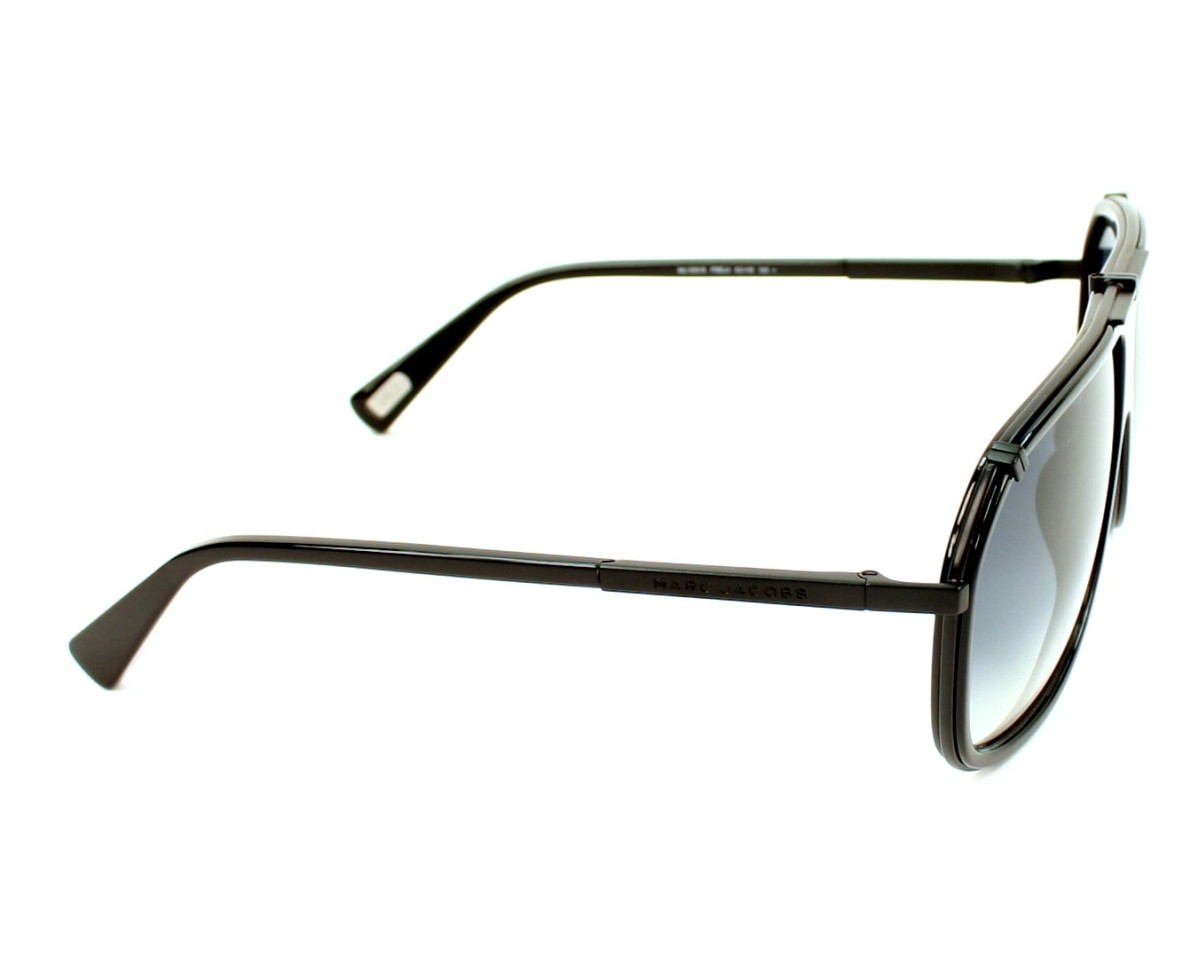 78c60ee6d1b1 thumbnail Sunglasses Marc Jacobs MJ-305-S PDE/JJ - Black side view
