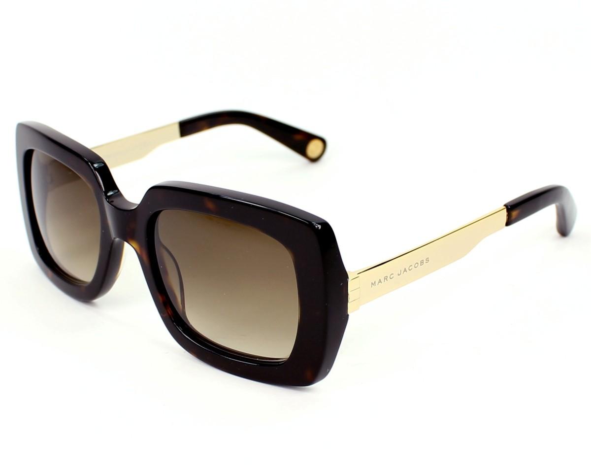 42e616c152 Sunglasses Marc Jacobs MJ-467-S ANT/CC - Havana Gold profile view