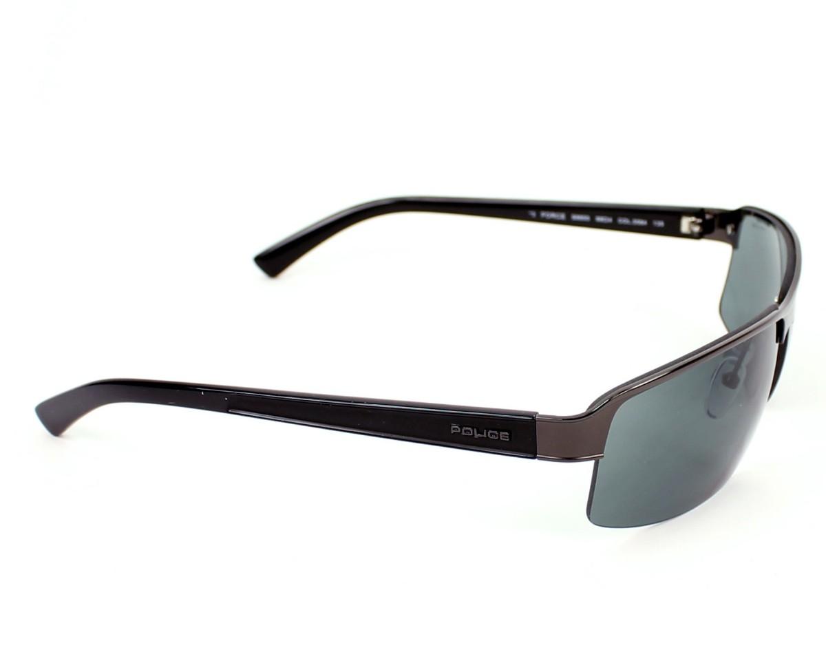 a9bb0214d6f Sunglasses Police S-8855 0584 68-4 Gun Black side view