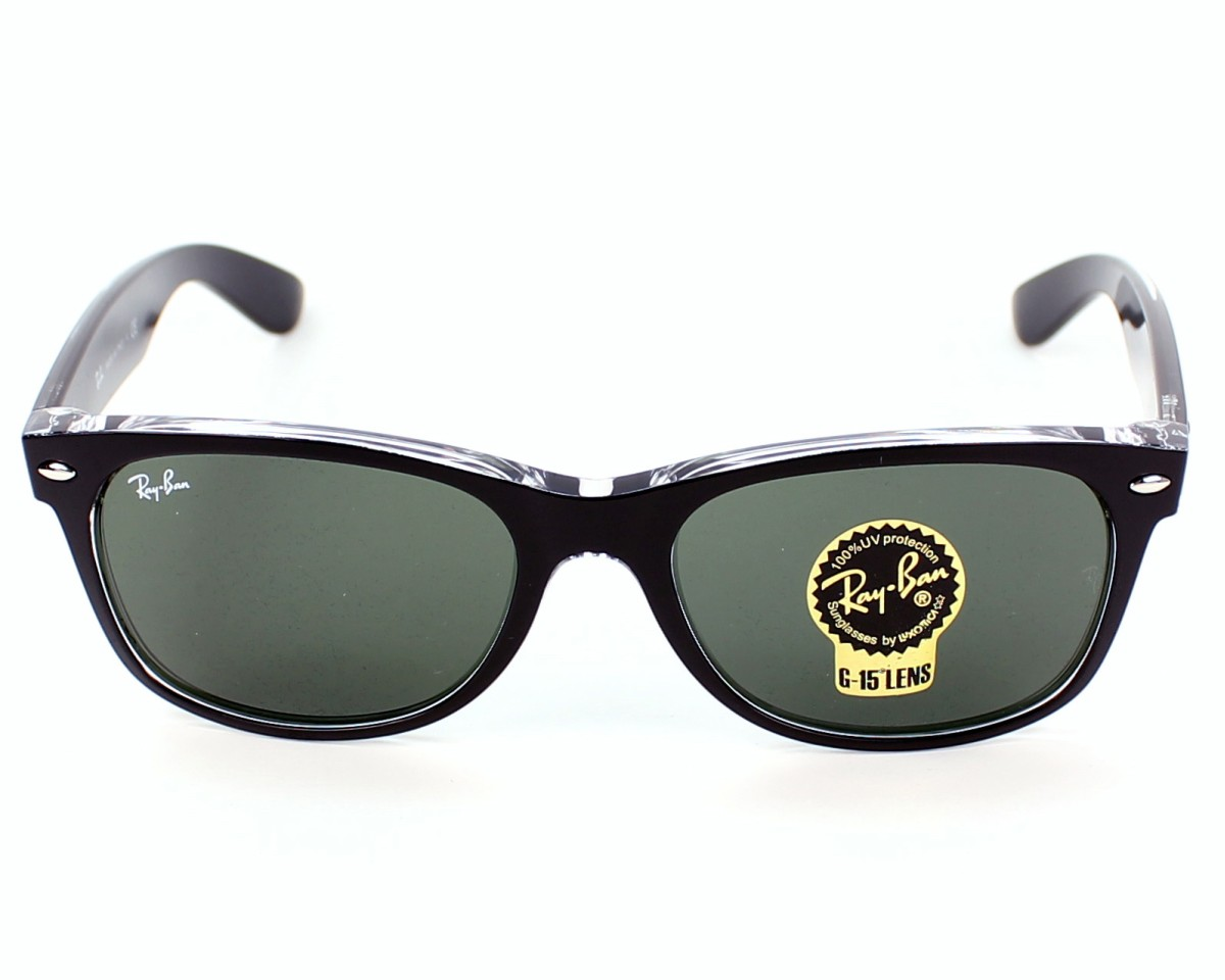 e502a4fd7f6 Sunglasses Ray-Ban RB-2132 6052 52-18 Black Crystal front view