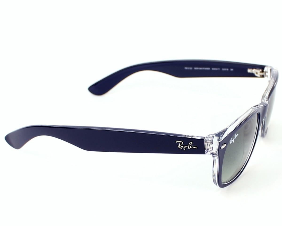 Sunglasses Ray-Ban RB-2132 6053 71 52-18 Blue Crystal side d37b4679d535