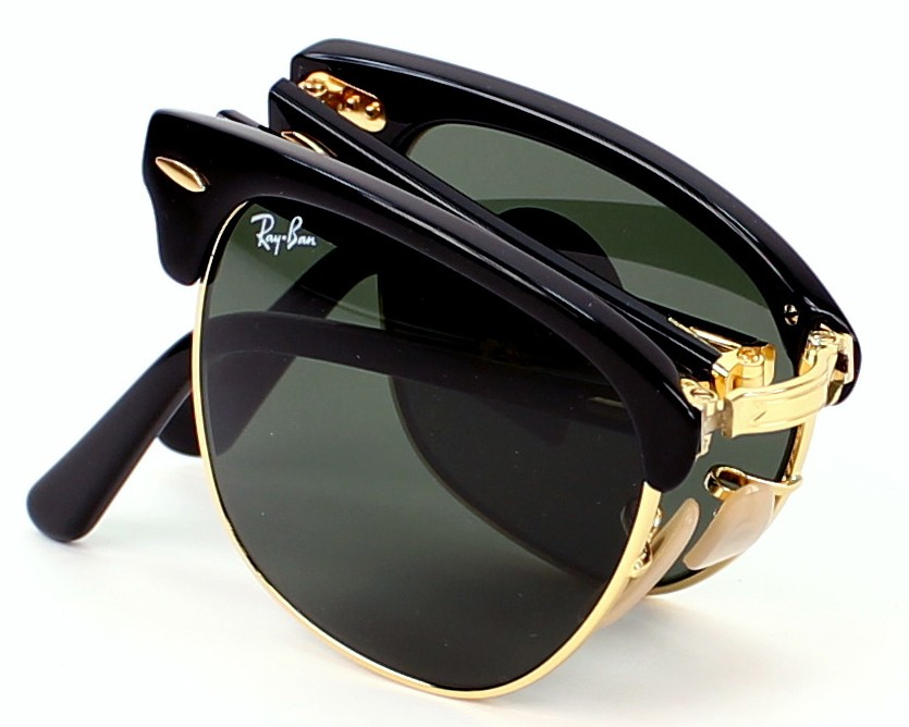 Sunglasses Ray-Ban RB-2176 901 51-21 Black Gold profile view 132178a064