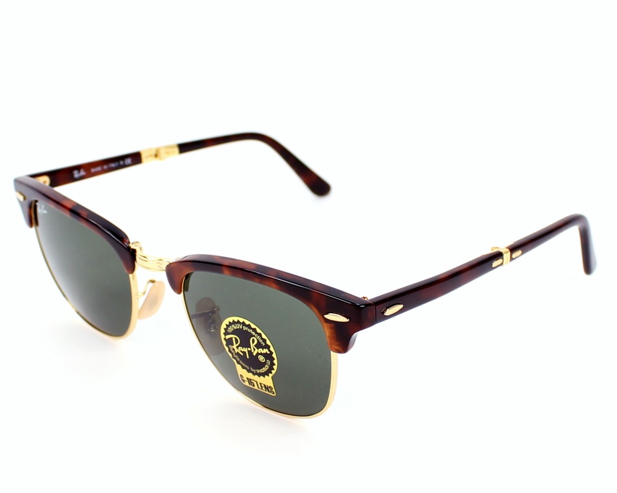 57c1e1256bd Sunglasses Ray-Ban RB-2176 990 51-21 Havana Gold front view