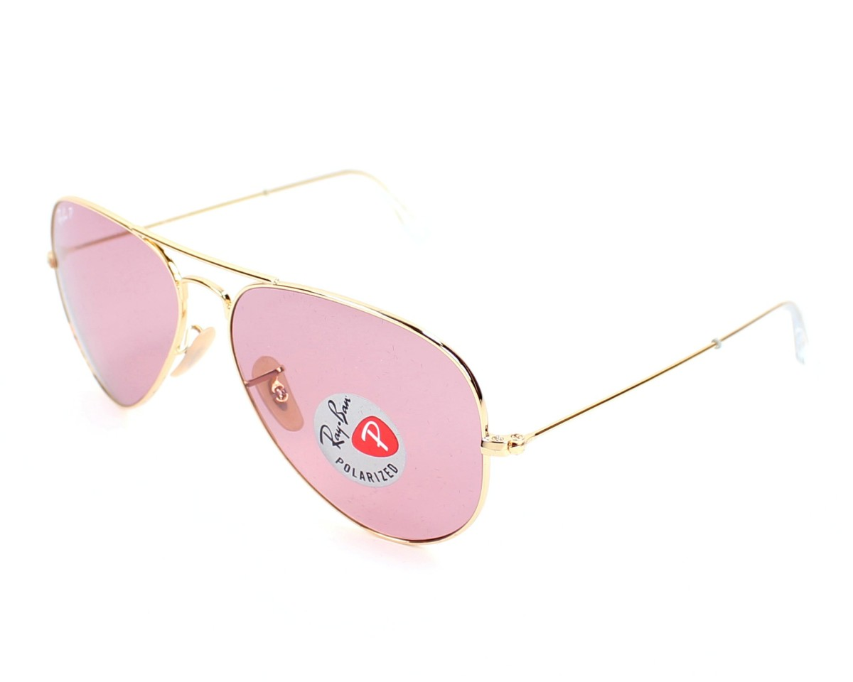 ray ban aviator pink  Ray Ban sunglasses Aviator Gradient RB3025 001/15 58