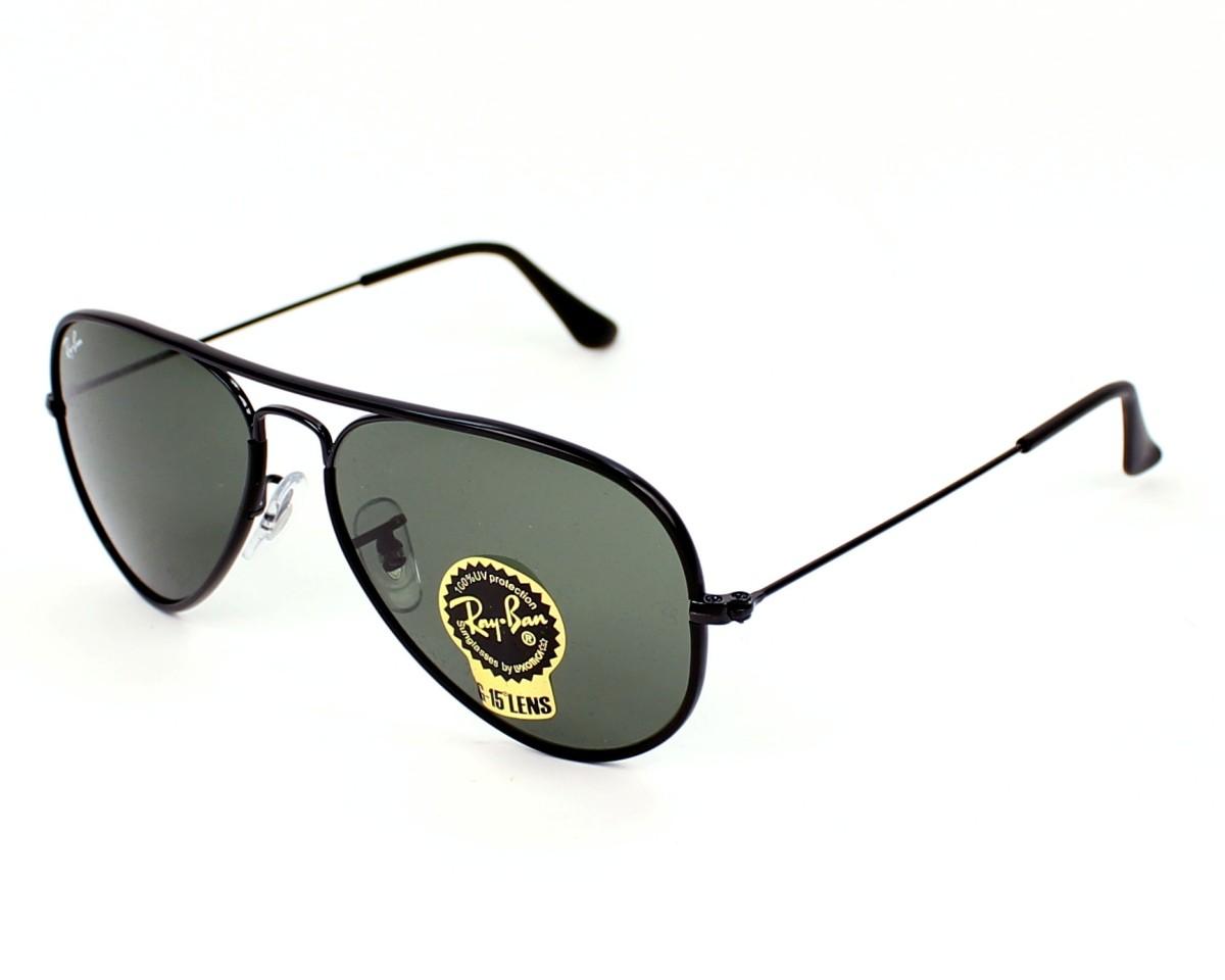 8654535210 thumbnail Sunglasses Ray-Ban RB-3025-JM 002 - Black profile view
