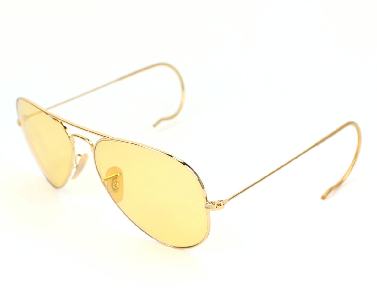 af94cd2d5c6 Sunglasses Ray-Ban RB-3025-M 001 4A - Gold profile view