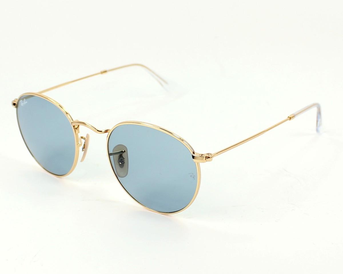 thumbnail Sunglasses Ray-Ban RB-3447 001 62 - Gold profile view 4f52b445f81a