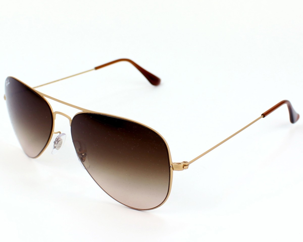 18eb11923d0 thumbnail Sunglasses Ray-Ban RB-3513 149 13 - Gold profile view