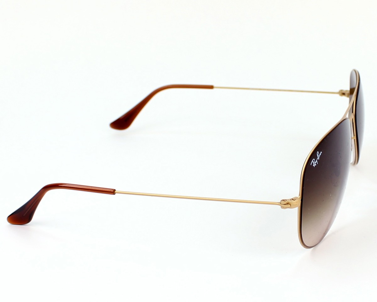 ad2ffead55c thumbnail Sunglasses Ray-Ban RB-3513 149 13 - Gold side view
