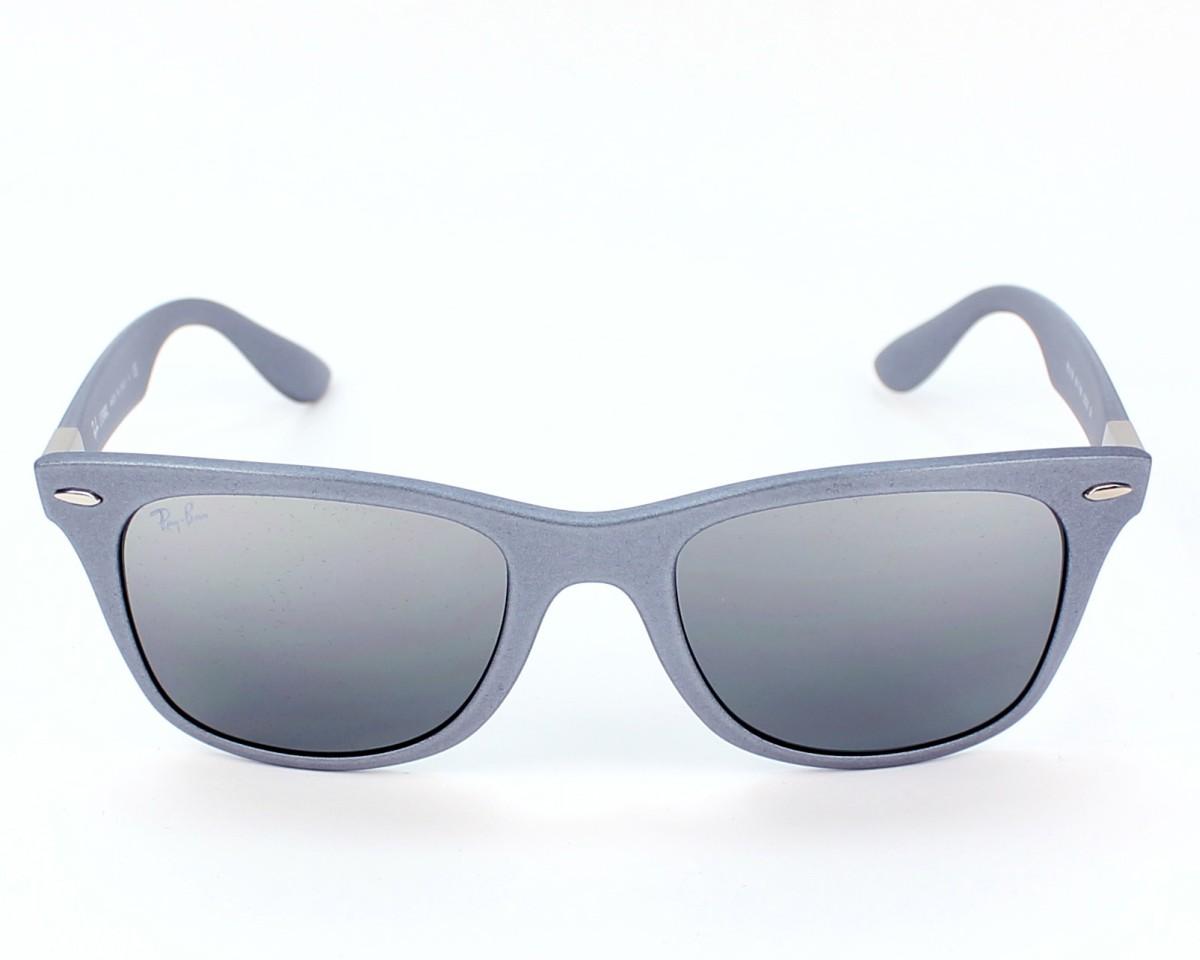 90d83c7b30 thumbnail Sunglasses Ray-Ban RB-4195 6017 88 - Grey front view
