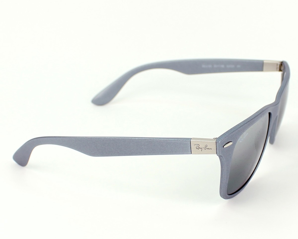 59ae350184 thumbnail Sunglasses Ray-Ban RB-4195 6017 88 - Grey side view