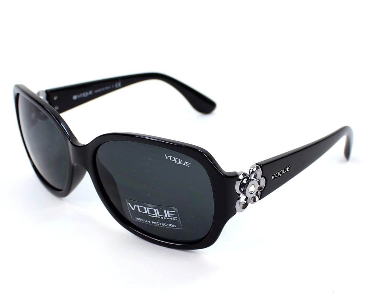 Vogue Sunglasses Black With Black Lenses Vo 2778 Sb W44 87 Visionet Us