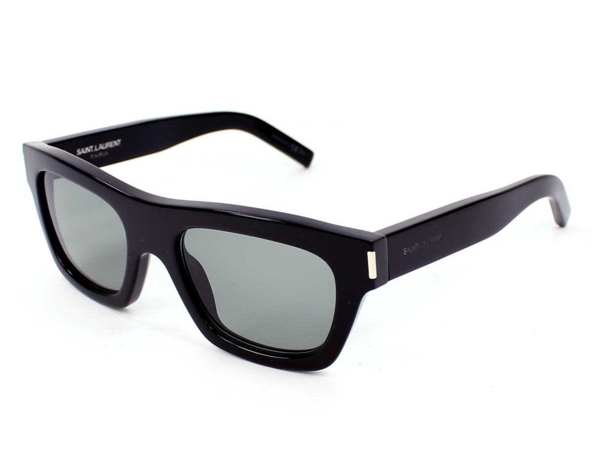 faa7d8d6506 Sunglasses Yves Saint Laurent YSLBOLD-4 8075L - Black profile view