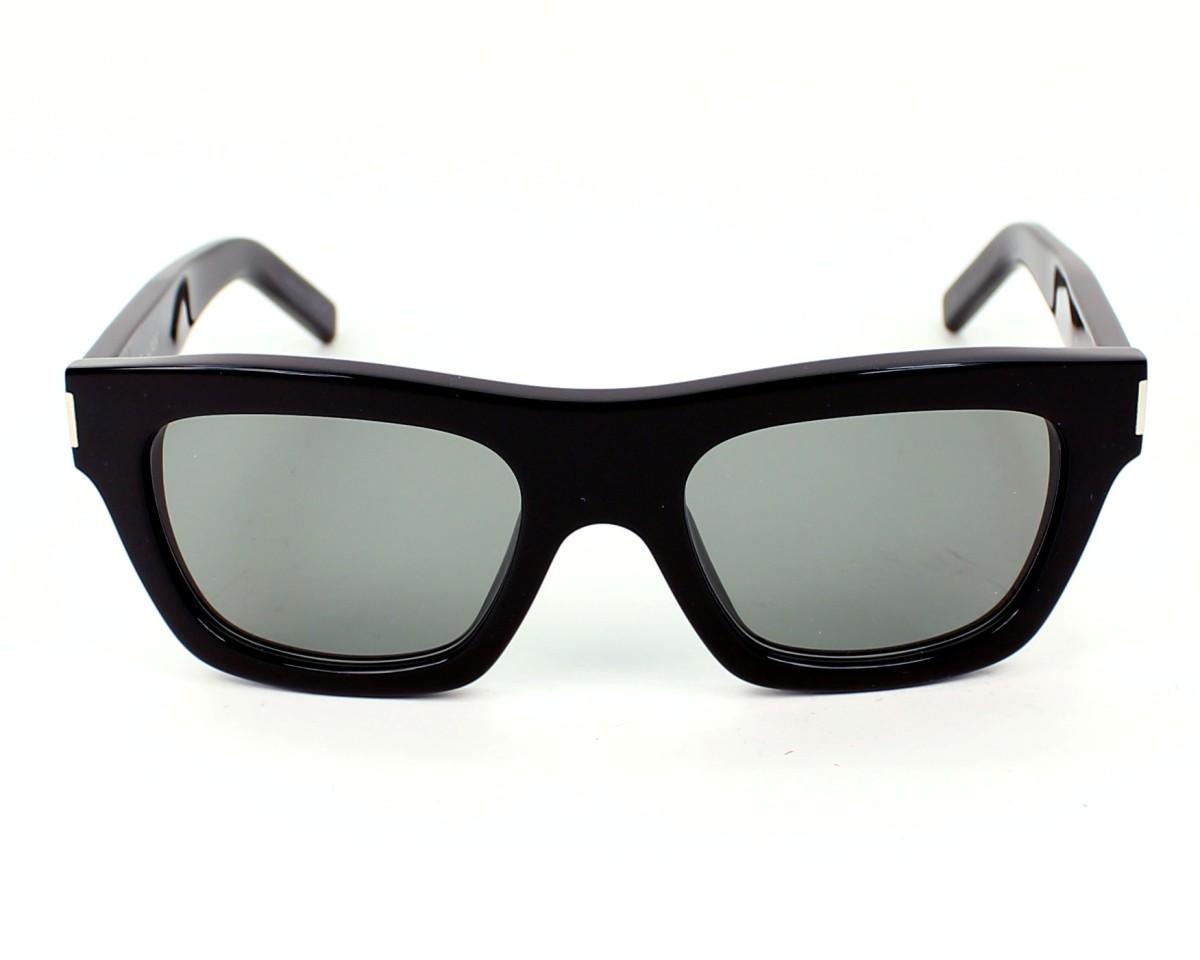 2f3ce981133 Sunglasses Yves Saint Laurent YSLBOLD-4 8075L - Black front view