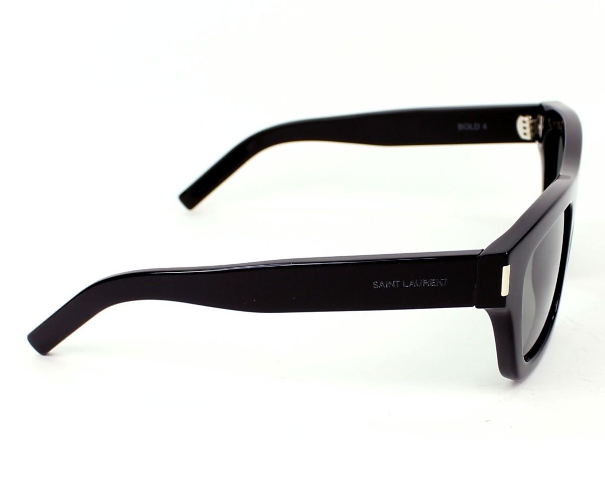 69a0648e044 Sunglasses Yves Saint Laurent YSLBOLD-4 8075L - Black side view