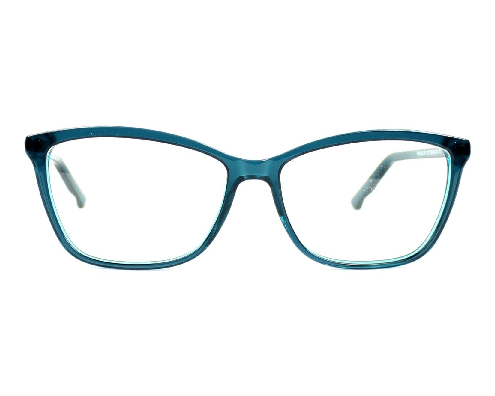 75a06f550f4 eyeglasses Swarovski SW-5137 098 54-14 Green Green front view