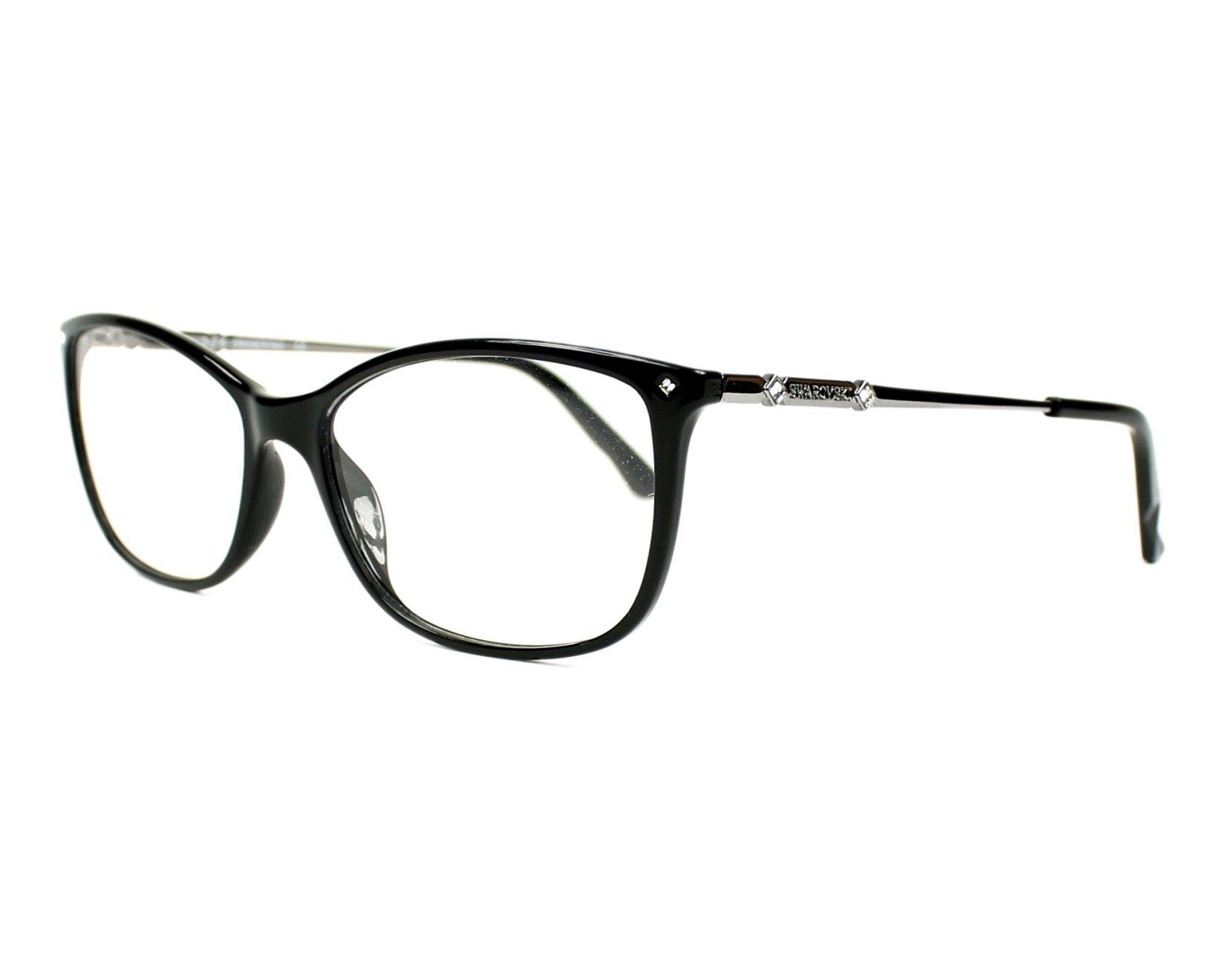 Swarovski Eyeglasses Black Sw 5179 001 Visionet Us