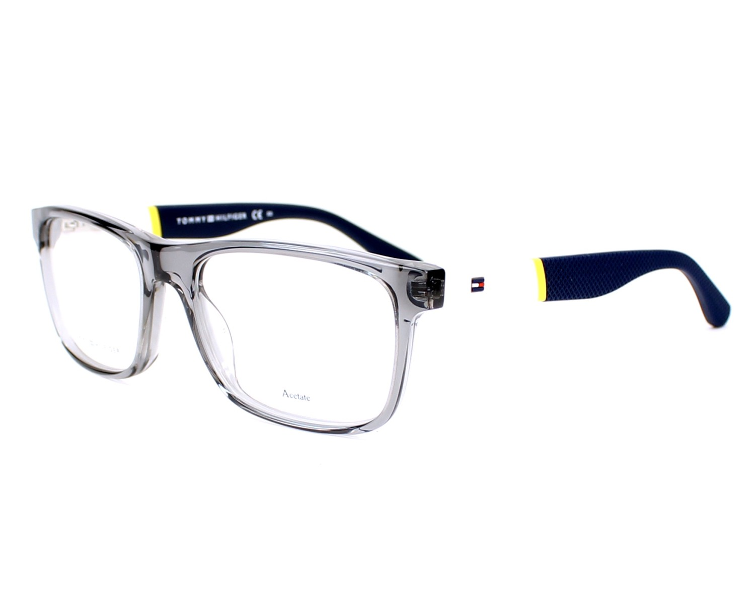 eyeglasses Tommy Hilfiger TH-1282 FNV 52-17 Grey White profile view 201495099337