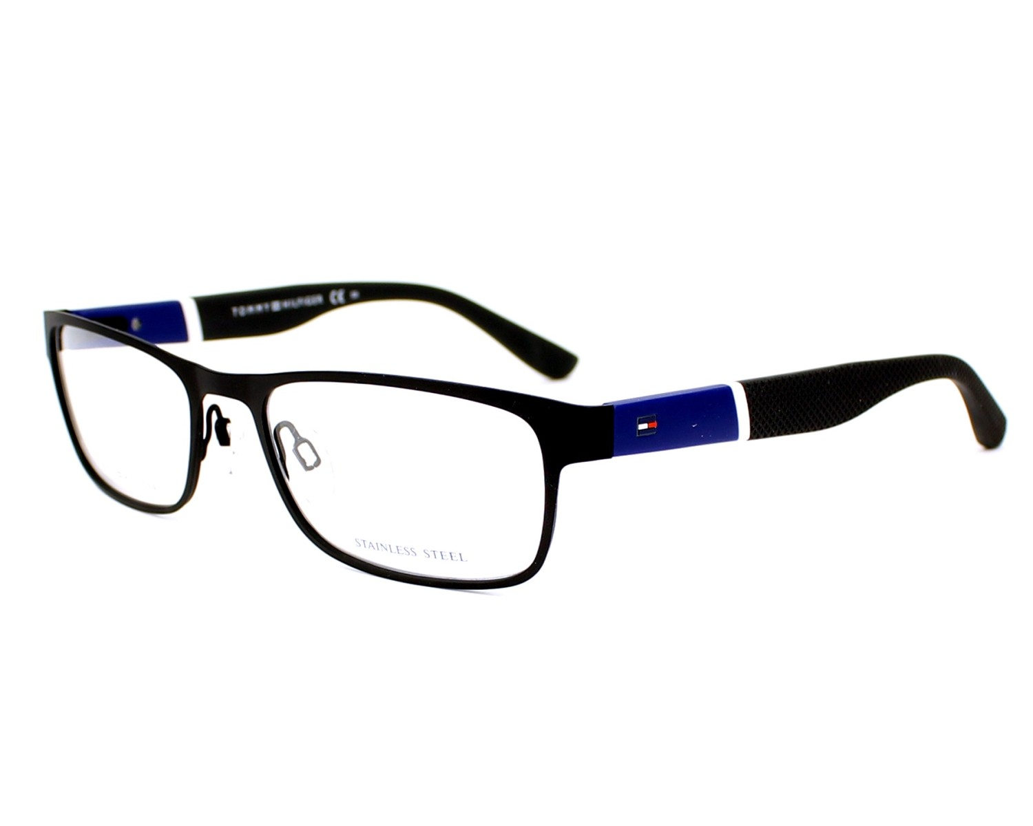 Tommy Hilfiger Glasses Frames Blue : Order your Tommy Hilfiger eyeglasses TH 1284 FO3 53 today