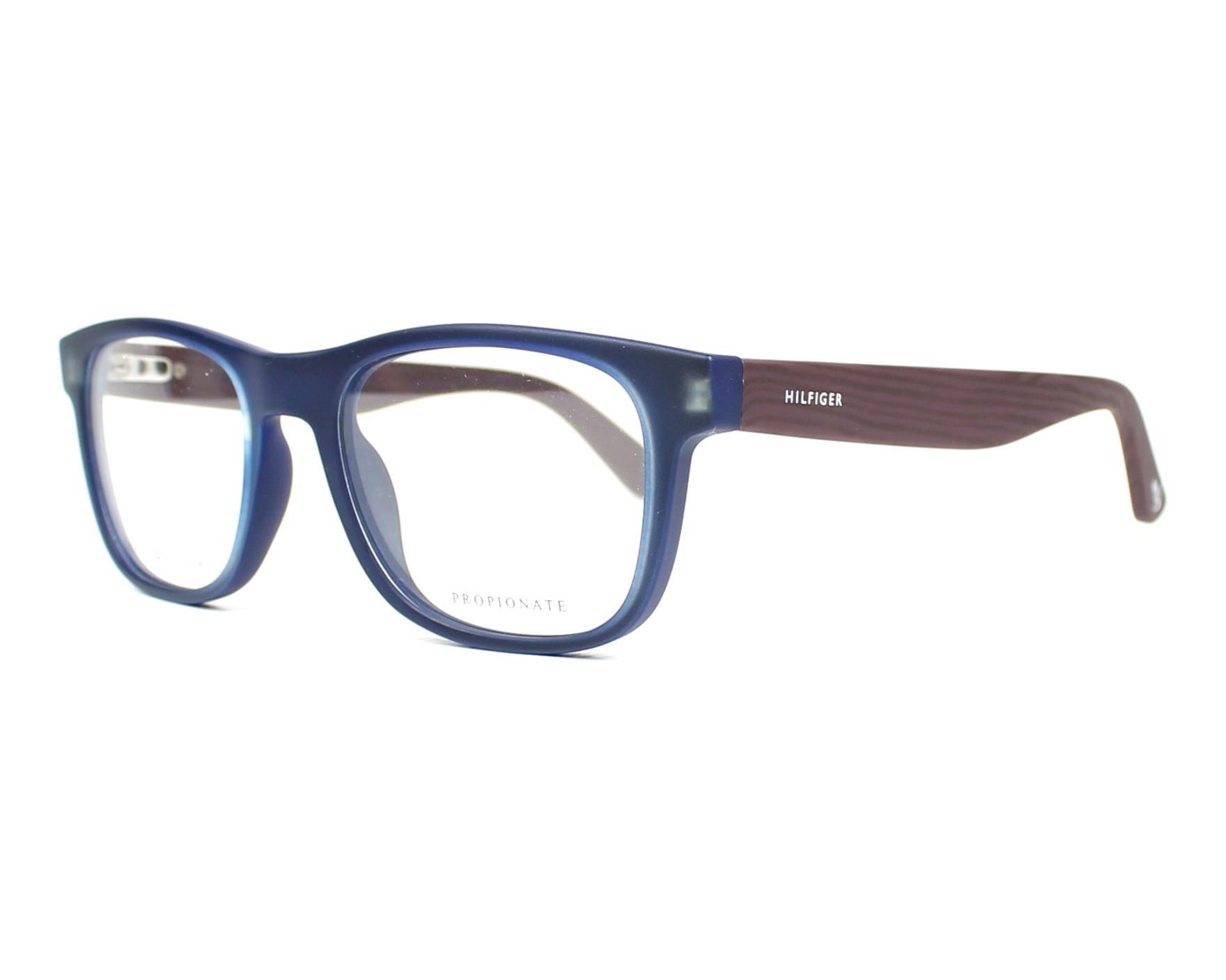eyeglasses Tommy Hilfiger TH-1314 LWC - Blue Brown profile view