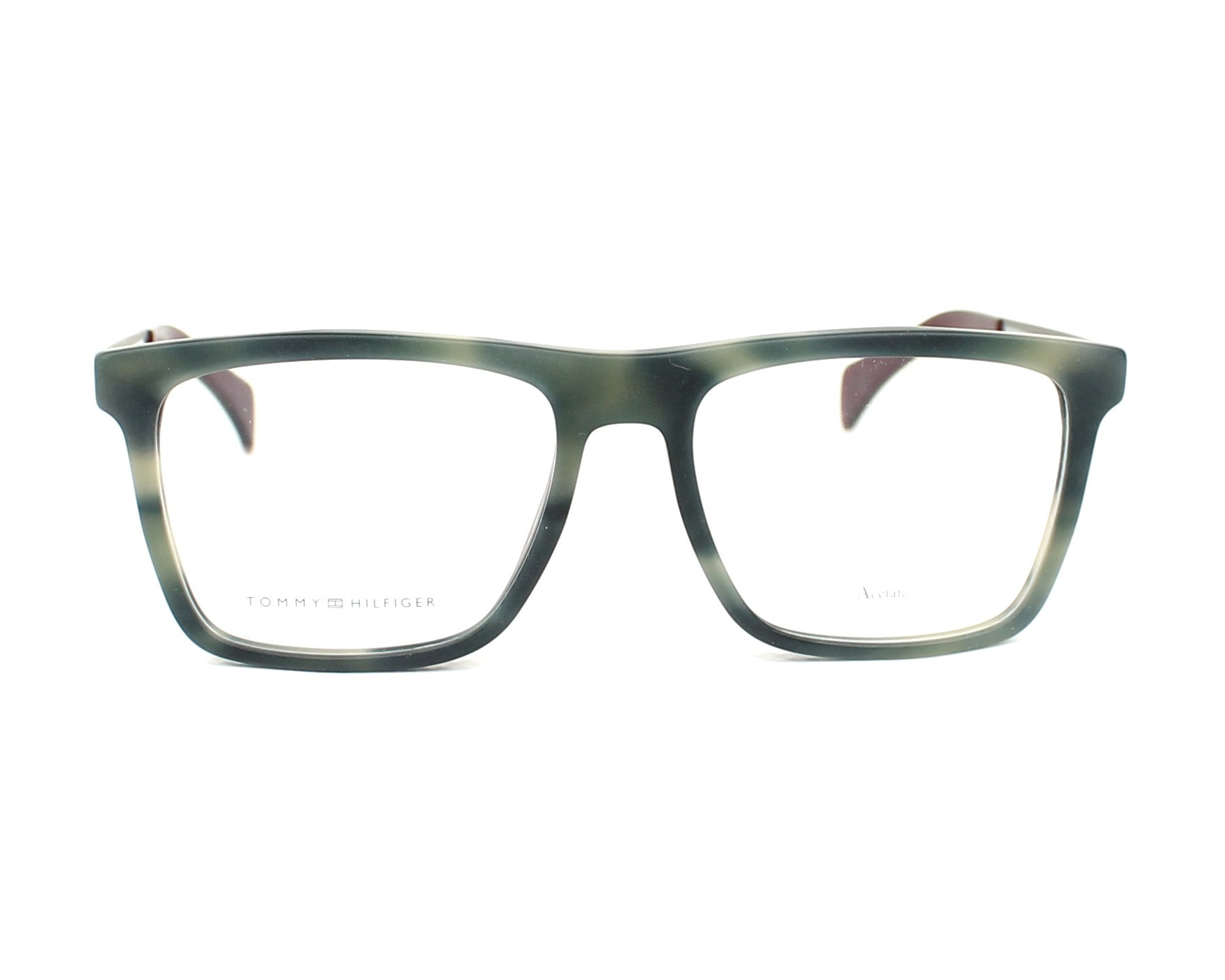 eyeglasses Tommy Hilfiger TH-1436 H7Y 53-17 Grey Ruthenium front view c5233305ff